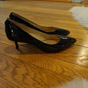 Michael Kors kitten heel patent shoes sz 8M
